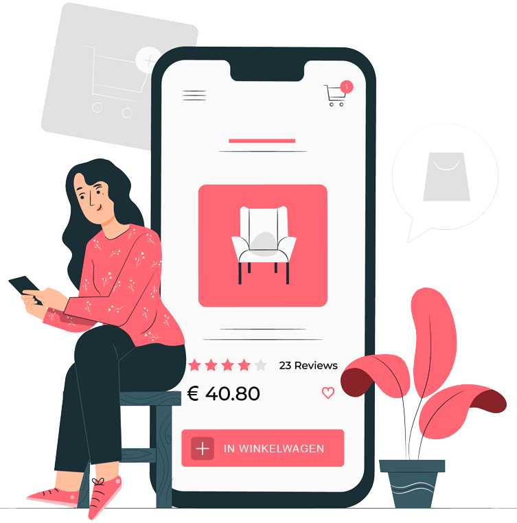 webshop leasen
