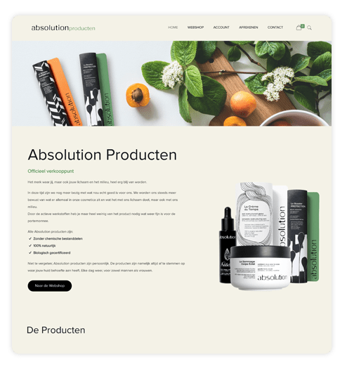 absolution producten